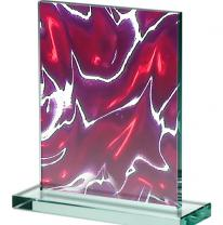 3D стеклянная панель 0838