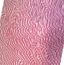Декоративная стеновая панель 3D, цвета розовый/серебро