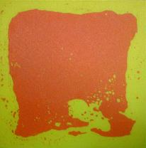 Нестандартная  живая плитка, желто-красная