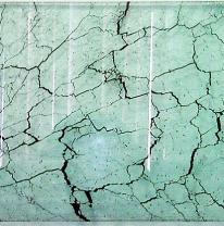 Текстурированное стекло 80 x 40 Цвет прозрачный, зеленоватый