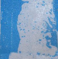 Напольная плитка liquid floor, голубая