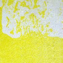 Напольная плитка liquid floor, желтая