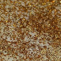 Напольное покрытие, живая плитка, золотая