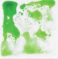 Напольное покрытие, живая плитка, цвет зеленый
