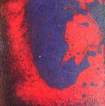 Живая плитка liquid lava, красно / синяя