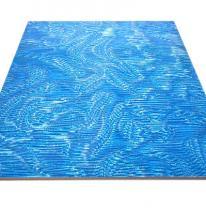 Потолочная панель Армстронг 3D голубого цвета