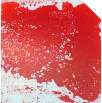 Цветная живая плитка красного цвета для стриптиз подиума