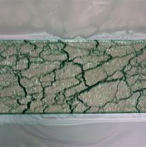 Текстурированное стекло / зеркало 80 x 40 Цвет прозрачный