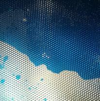 Живая плитка (liquid tile) акриловая синяя