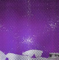 Живая плитка (liquid tile) акриловая фиолетовая