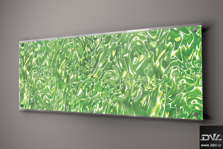 стекло с печатью 3d