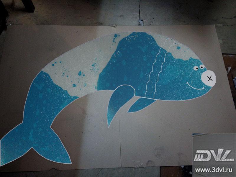 нестандартная плитка для океанариума