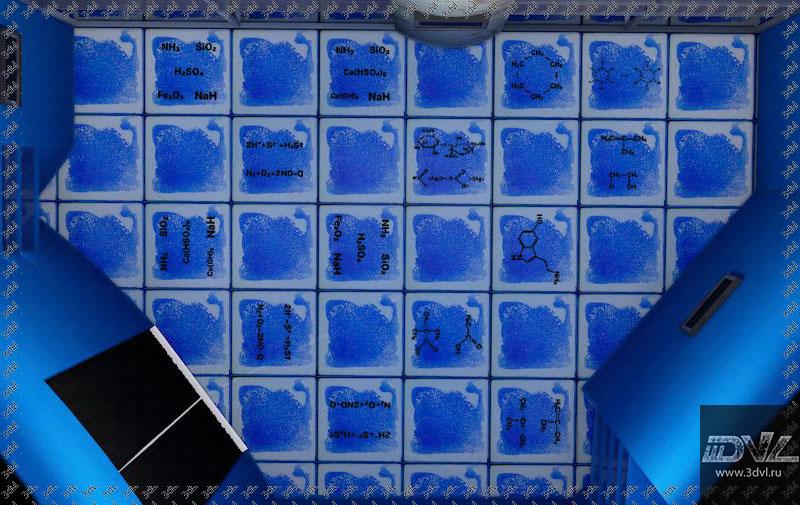 живая плитка liquid floor в музеи интерактив