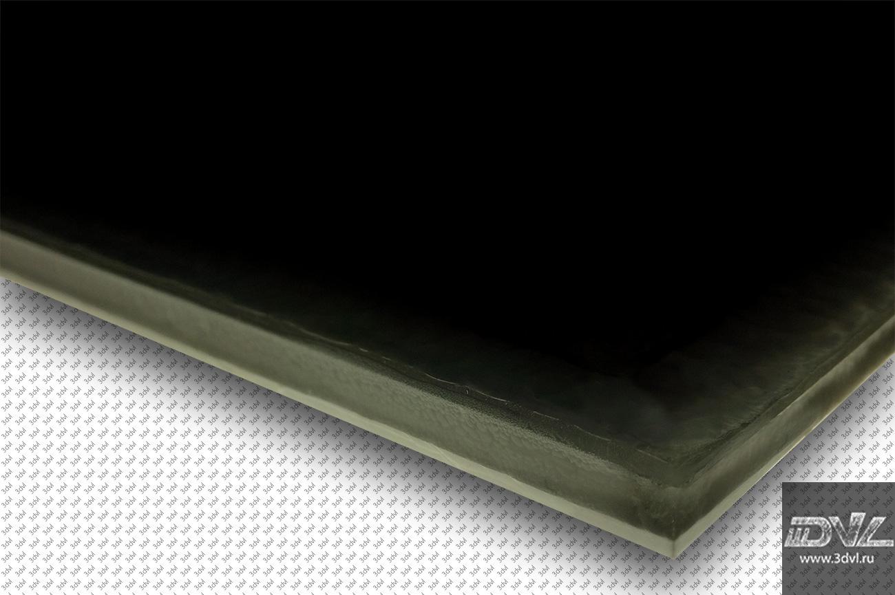 тоцевая часть живой плитки при монтаже стык в стык фото