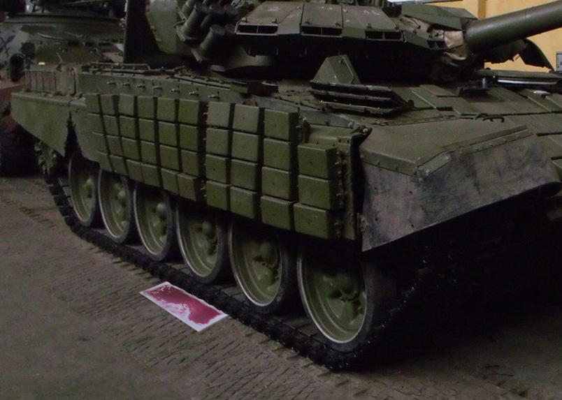 живая плитка испытание танком