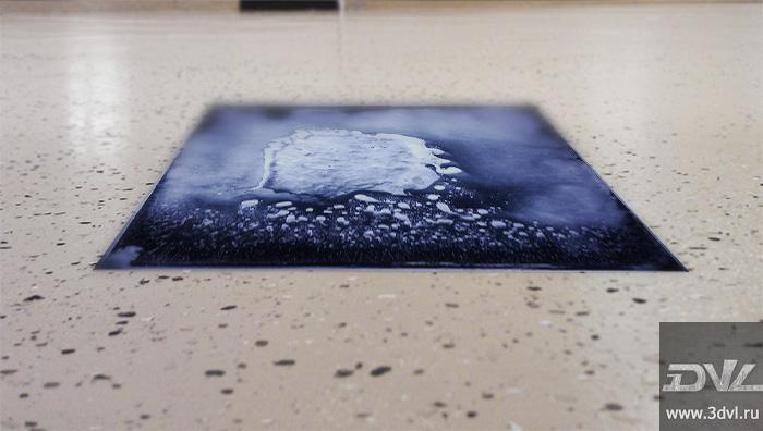 живая плитка liquid floor с меняющимся рисунком, напольная плитка для стриптиз клуба