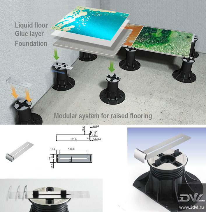 Живая плитка компании 3DVL может монтироваться как на танцпол, так же и на фальшь пол