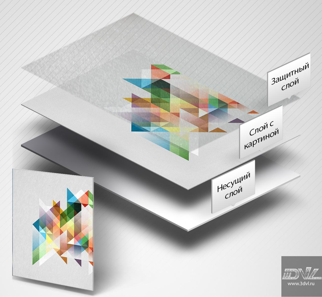 нестандартная плитка с печатью фото и схема монтажа