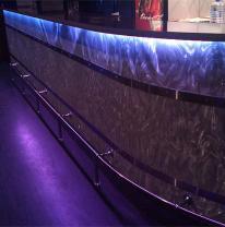 Дизайн барной стойки с 3D материалом