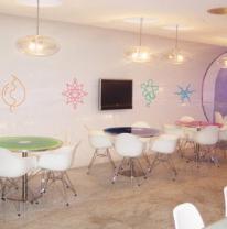 Живые столешницы для Cafe Blanc Coffee House