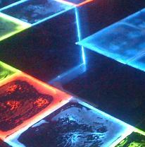 Использование живого пола из живой плитки в дизайне танцпола ночного клуба