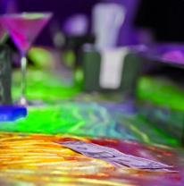 Дизайн барной стойки с использованием 3D материала