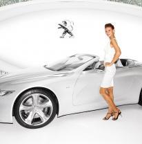Выставочный стенд компании Peugeot