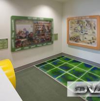 Живая плитка в частном детском саду