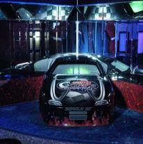Использование 3D пленки в интерьере стриптиз клуба