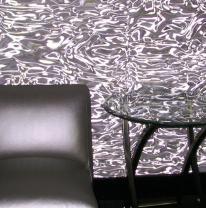 Использование 3D пленки в интерьере клуба