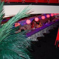 Барная стойка с фасадом из 3DVL пленки
