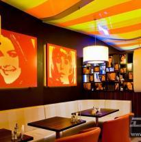3D пленка на абажурах в Кофе Сити