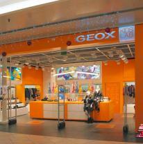 Живая плитка в магазине Geox KidsLab