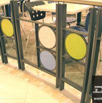 Использование 3D поликарбонатной пленки в дизайне интерьера кафе