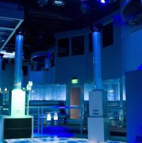 Отделочные материалы 21 века в дизайне ночного клуба