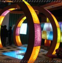 3DVL декор для выставочного стенда