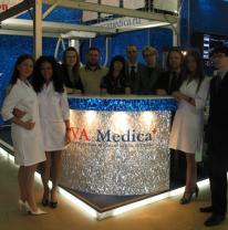 Поставка 3d пленки для стенда компании AVA Medica