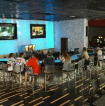 Покрытие стен 3d пленкой в кафе Captains Quarters, Myrtle Beach, SC
