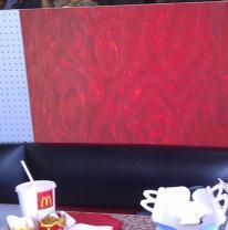 3D пленка в дизайне ресторана быстрого питания McDonald's