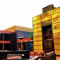 3DVL поликарбонат в фасадных панелях