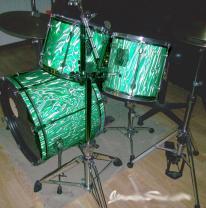 3d пленка на барабанной установке