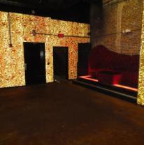 3d пленка с эффектом объема в ночном клубе