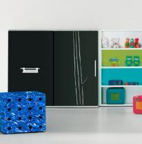 В дизайне детской мебели использовали 3d пленку