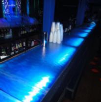 Дизайн ночного клуба с использованием 3д пленки и живой плитки