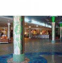 Поставка и монтаж живой плитки в торговый центр