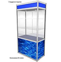 Изготовление витрин с использованием объемного материала 3d пленки