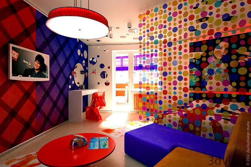 Интерьеры комнат в стиле