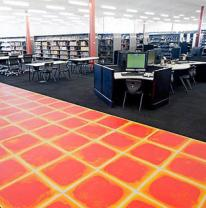 Напольное покрытие в интерьере библиотек