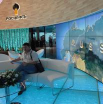 Выставочный стенд Компании Роснефть