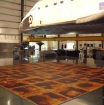 Живая плитка liquid floor в музеи
